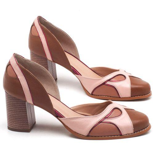 Laranja_Lima_Shoes_Sapatos_Femininos_Scarpin_Salto_Medio_de_6_cm_em_Couro_Bicolor_-_Codigo_-_3620_1