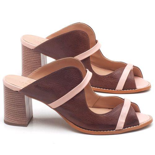 Laranja_Lima_Shoes_Sapatos_Femininos_Sandalia_Laranja_Lima_Shoes_Classic_Salto_de_6_cm_em_Couro_Bicolor_-_Codigo_-_3624_1