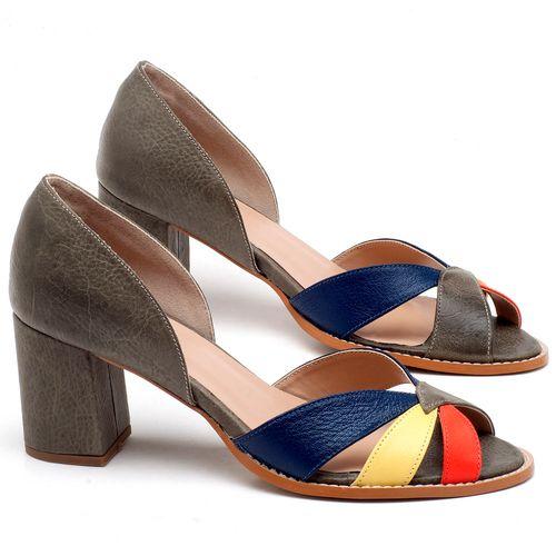 Laranja_Lima_Shoes_Sapatos_Femininos_Sandalia_Laranja_Lima_Shoes_Classic_Salto_de_7_cm_em_Couro_Multicolor_-_Codigo_-_3627_1