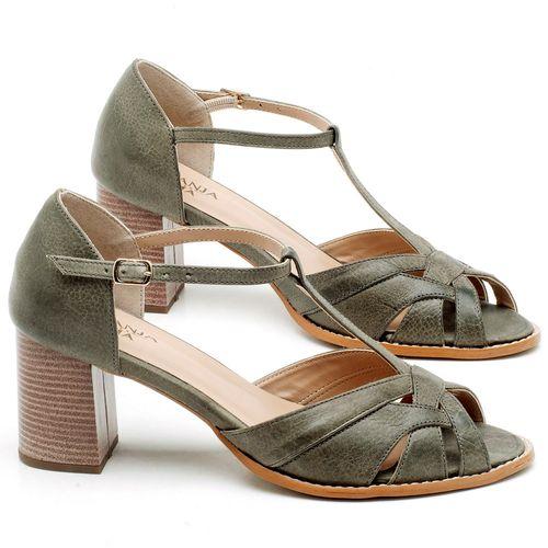 Laranja_Lima_Shoes_Sapatos_Femininos_Sandalia_Laranja_Lima_Shoes_Classic_Salto_de_6_cm_em_Couro_Musgo_-_Codigo_-_3628_1