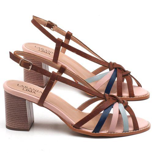 Laranja_Lima_Shoes_Sapatos_Femininos_Sandalia_Laranja_Lima_Shoes_Classic_Salto_de_6_cm_em_Couro_Multicolor_-_Codigo_-_3629_1