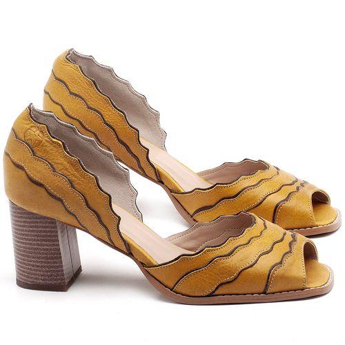 Laranja_Lima_Shoes_Sapatos_Femininos_Sandalia_Laranja_Lima_Shoes_Classic_Salto_de_6_cm_em_Couro_Amarelo_-_Codigo_-_3630_1