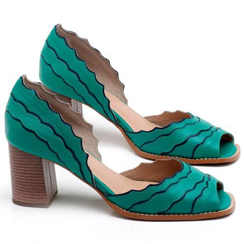 Laranja_Lima_Shoes_Sapatos_Femininos_Sandalia_Laranja_Lima_Shoes_Classic_Salto_de_6_cm_em_Couro_Verde_-_Codigo_-_3630_1