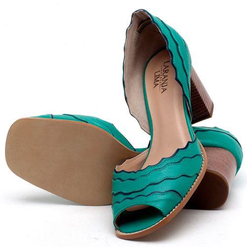 Laranja_Lima_Shoes_Sapatos_Femininos_Sandalia_Laranja_Lima_Shoes_Classic_Salto_de_6_cm_em_Couro_Verde_-_Codigo_-_3630_2