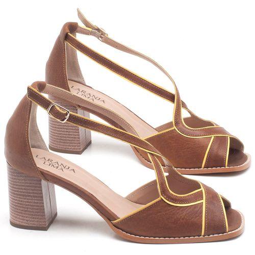 Laranja_Lima_Shoes_Sapatos_Femininos_Sandalia_Laranja_Lima_Shoes_Classic_Salto_de_6_cm_em_Couro_Marrom_-_Codigo_-_3631_1