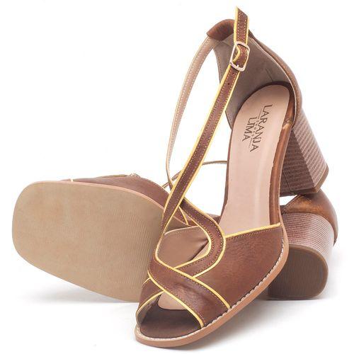 Laranja_Lima_Shoes_Sapatos_Femininos_Sandalia_Laranja_Lima_Shoes_Classic_Salto_de_6_cm_em_Couro_Marrom_-_Codigo_-_3631_2