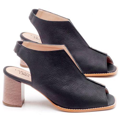 Laranja_Lima_Shoes_Sapatos_Femininos_Sandalia_Laranja_Lima_Shoes_Classic_Salto_de_6_cm_em_Couro_Preto_-_Codigo_-_3632_1