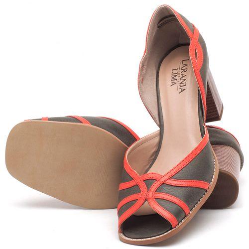 Laranja_Lima_Shoes_Sapatos_Femininos_Sandalia_Laranja_Lima_Shoes_Classic_Salto_de_6_cm_em_Couro_Bicolor_-_Codigo_-_3635_2
