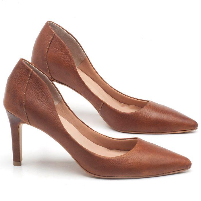 Laranja_Lima_Shoes_Sapatos_Femininos_Scarpin_Salto_Alto_de_9_cm_em_Couro_Marrom_-_Codigo_-_3640_1