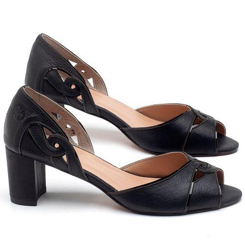 Laranja_Lima_Shoes_Sapatos_Femininos_Sandalia_Laranja_Lima_Shoes_Classic_Salto_de_6_cm_em_Couro_Preto_-_Codigo_-_3646_1