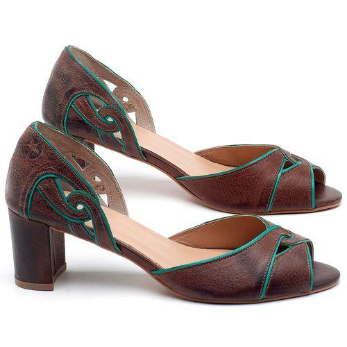 Laranja_Lima_Shoes_Sapatos_Femininos_Sandalia_Laranja_Lima_Shoes_Classic_Salto_de_6_cm_em_Couro_Bicolor_-_Codigo_-_3646_1