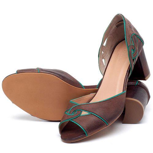 Laranja_Lima_Shoes_Sapatos_Femininos_Sandalia_Laranja_Lima_Shoes_Classic_Salto_de_6_cm_em_Couro_Bicolor_-_Codigo_-_3646_2