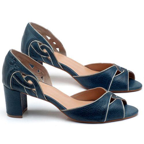 Laranja_Lima_Shoes_Sapatos_Femininos_Sandalia_Laranja_Lima_Shoes_Classic_Salto_de_6_cm_em_Couro_Azul_-_Codigo_-_3646_1