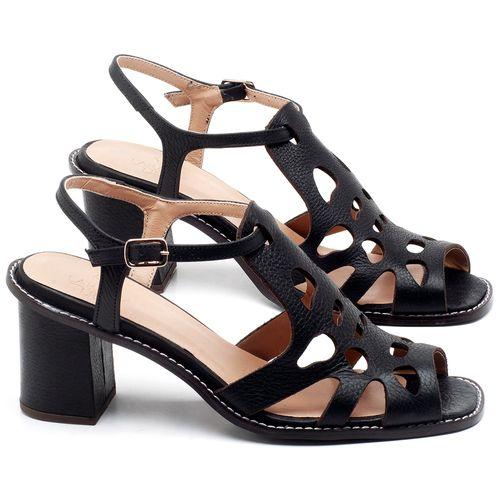Laranja_Lima_Shoes_Sapatos_Femininos_Sandalia_Laranja_Lima_Shoes_Classic_Salto_de_6_cm_em_Couro_Preto_-_Codigo_-_3648_1