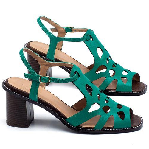 Laranja_Lima_Shoes_Sapatos_Femininos_Sandalia_Laranja_Lima_Shoes_Classic_Salto_de_6_cm_em_Couro_Verde_-_Codigo_-_3648_1