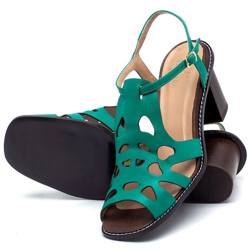 Laranja_Lima_Shoes_Sapatos_Femininos_Sandalia_Laranja_Lima_Shoes_Classic_Salto_de_6_cm_em_Couro_Verde_-_Codigo_-_3648_2