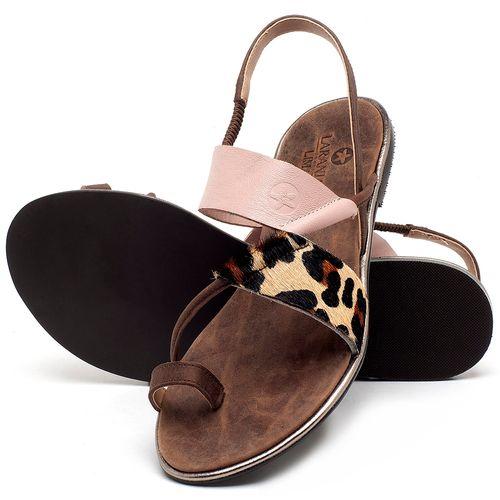 Laranja_Lima_Shoes_Sapatos_Femininos_Sandalia_Rasteira_Flat_em_Couro_Multicolor_-_Codigo_-_3656_2