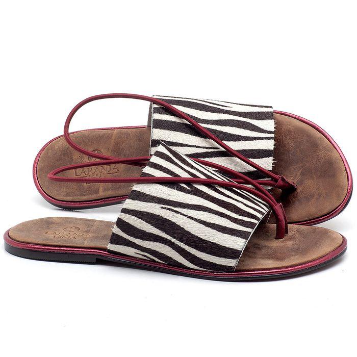 Laranja_Lima_Shoes_Sapatos_Femininos_Sandalia_Rasteira_Flat_em_Couro_Animal_Print_-_Codigo_-_3657_1