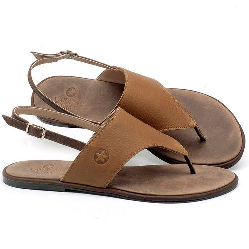 Laranja_Lima_Shoes_Sapatos_Femininos_Sandalia_Rasteira_Flat_em_Couro_Caramelo_-_Codigo_-_3658_1