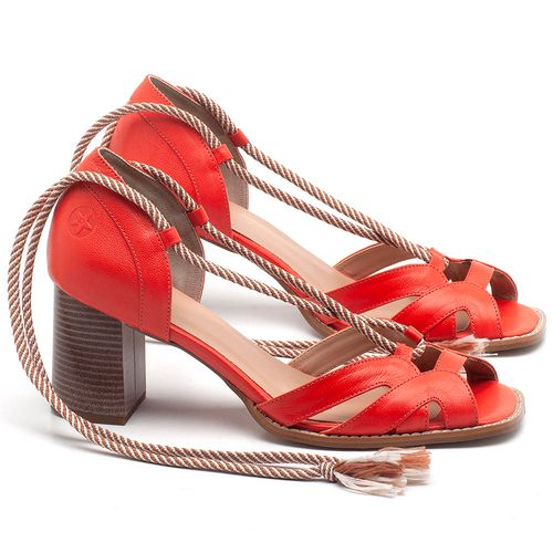 Laranja_Lima_Shoes_Sapatos_Femininos_Sandalia_Laranja_Lima_Shoes_Classic_Salto_de_6_cm_em_Couro_Laranja_-_Codigo_-_3661_1