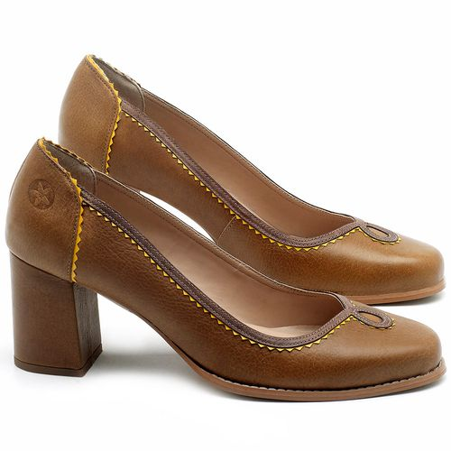 Laranja_Lima_Shoes_Sapatos_Femininos_Scarpin_Salto_Medio_de_6_cm_em_Couro_Marrom_-_Codigo_-_3664_1