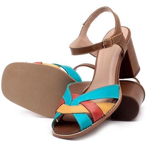 Laranja_Lima_Shoes_Sapatos_Femininos_Sandalia_Laranja_Lima_Shoes_Classic_Salto_de_6_cm_em_Couro_Multicolor_-_Codigo_-_3667_2