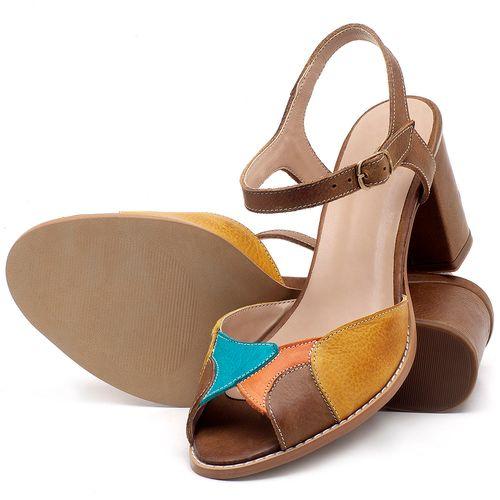 Laranja_Lima_Shoes_Sapatos_Femininos_Sandalia_Laranja_Lima_Shoes_Classic_Salto_de_6_cm_em_Couro_Multicolor_-_Codigo_-_3668_2