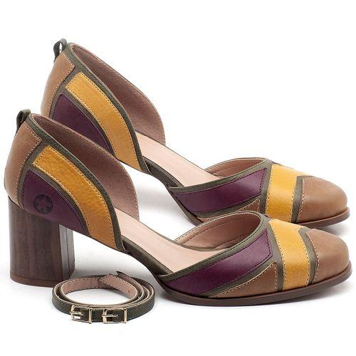 Laranja_Lima_Shoes_Sapatos_Femininos_Scarpin_Salto_Medio_de_6_cm_em_Couro_Multicolor_-_Codigo_-_3671_1