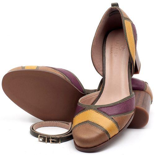 Laranja_Lima_Shoes_Sapatos_Femininos_Scarpin_Salto_Medio_de_6_cm_em_Couro_Multicolor_-_Codigo_-_3671_2