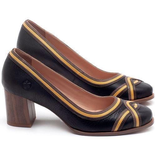Laranja_Lima_Shoes_Sapatos_Femininos_Scarpin_Salto_Medio_de_6_cm_em_Couro_Preto_-_Codigo_-_3672_1