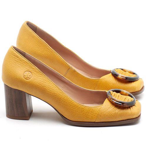 Laranja_Lima_Shoes_Sapatos_Femininos_Scarpin_Salto_Medio_de_6_cm_em_Couro_Amarelo_-_Codigo_-_3675_1