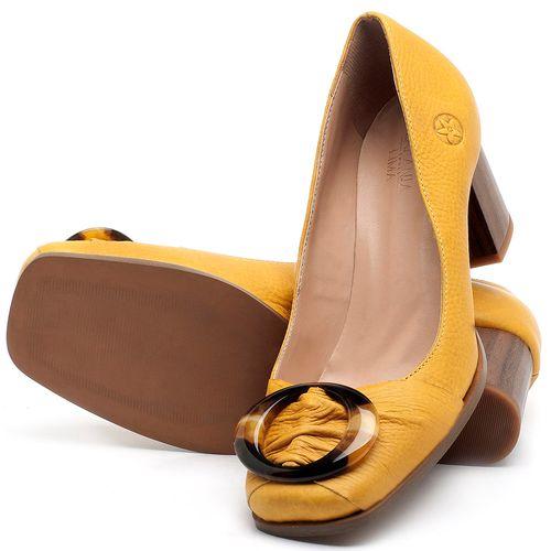 Laranja_Lima_Shoes_Sapatos_Femininos_Scarpin_Salto_Medio_de_6_cm_em_Couro_Amarelo_-_Codigo_-_3675_2