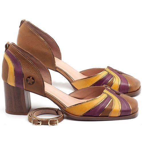 Laranja_Lima_Shoes_Sapatos_Femininos_Scarpin_Salto_Medio_de_6_cm_em_Couro_Multicolor_-_Codigo_-_3677_1