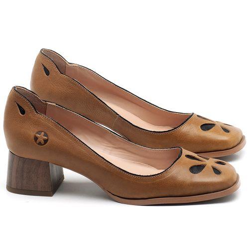 Laranja_Lima_Shoes_Sapatos_Femininos_Scarpin_Salto_Baixo_de_4_cm_em_Couro_Caramelo_-_Codigo_-_3681_1