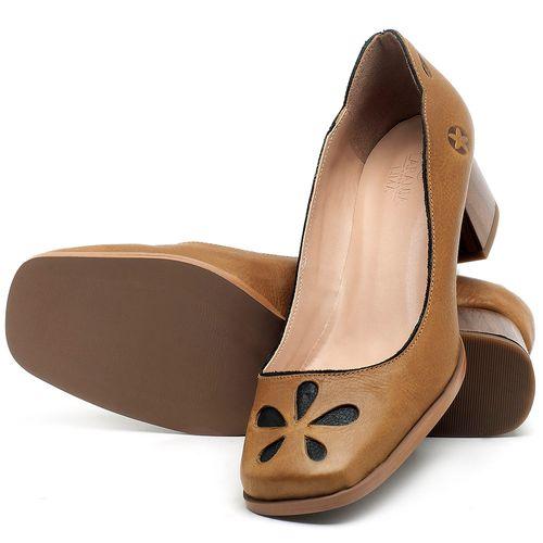 Laranja_Lima_Shoes_Sapatos_Femininos_Scarpin_Salto_Baixo_de_4_cm_em_Couro_Caramelo_-_Codigo_-_3681_2