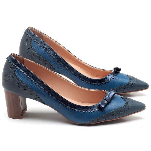 Laranja_Lima_Shoes_Sapatos_Femininos_Scarpin_Salto_Medio_de_6_cm_em_Couro_Azul_-_Codigo_-_3685_1