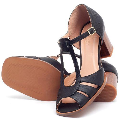 Laranja_Lima_Shoes_Sapatos_Femininos_Sandalia_Laranja_Lima_Shoes_Classic_Salto_de_8_cm_em_Couro_Preto_-_Codigo_-_3689_2