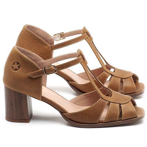 Laranja_Lima_Shoes_Sapatos_Femininos_Sandalia_Laranja_Lima_Shoes_Classic_Salto_de_8_cm_em_Couro_Caramelo_-_Codigo_-_3689_1