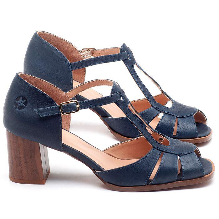 Laranja_Lima_Shoes_Sapatos_Femininos_Sandalia_Laranja_Lima_Shoes_Classic_Salto_de_8_cm_em_Couro_Azul_-_Codigo_-_3689_1