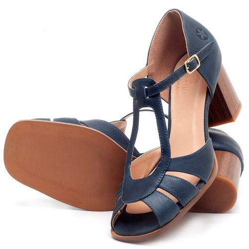 Laranja_Lima_Shoes_Sapatos_Femininos_Sandalia_Laranja_Lima_Shoes_Classic_Salto_de_8_cm_em_Couro_Azul_-_Codigo_-_3689_2