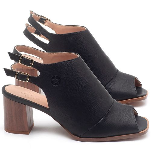 Laranja_Lima_Shoes_Sapatos_Femininos_Sandalia_Laranja_Lima_Shoes_Classic_Salto_de_6_cm_em_Couro_Preto_-_Codigo_-_3690_1