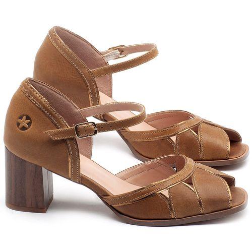 Laranja_Lima_Shoes_Sapatos_Femininos_Sandalia_Laranja_Lima_Shoes_Classic_Salto_de_6_cm_em_Couro_Caramelo_-_Codigo_-_3691_1