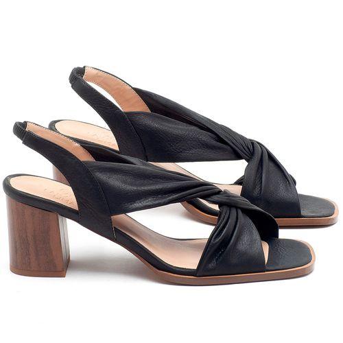 Laranja_Lima_Shoes_Sapatos_Femininos_Sandalia_Laranja_Lima_Shoes_Classic_Salto_de_6_cm_em_Couro_Preto_-_Codigo_-_3692_1