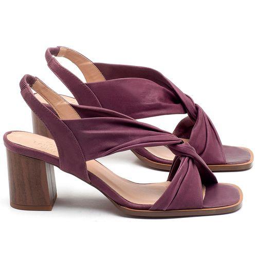 Laranja_Lima_Shoes_Sapatos_Femininos_Sandalia_Laranja_Lima_Shoes_Classic_Salto_de_6_cm_em_Couro_Roxo_-_Codigo_-_3692_1