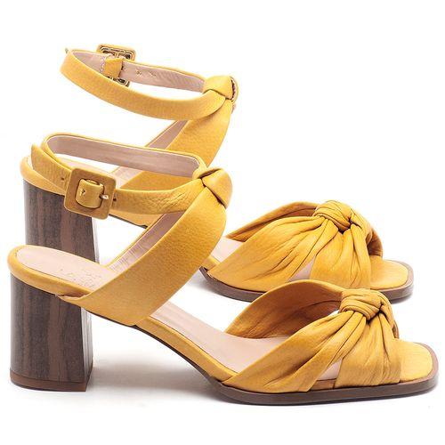 Laranja_Lima_Shoes_Sapatos_Femininos_Sandalia_Laranja_Lima_Shoes_Classic_Salto_de_6_cm_em_Couro_Amarelo_-_Codigo_-_3693_1