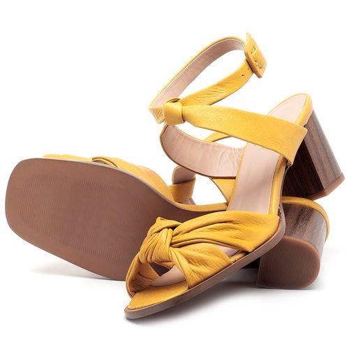Laranja_Lima_Shoes_Sapatos_Femininos_Sandalia_Laranja_Lima_Shoes_Classic_Salto_de_6_cm_em_Couro_Amarelo_-_Codigo_-_3693_2