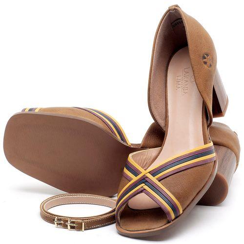 Laranja_Lima_Shoes_Sapatos_Femininos_Sandalia_Laranja_Lima_Shoes_Classic_Salto_de_6_cm_em_Couro_Caramelo_-_Codigo_-_3694_2