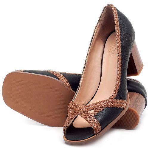Laranja_Lima_Shoes_Sapatos_Femininos_Peep_Toe_Laranja_Lima_Shoes_Salto_de_5_cm_em_Couro_Preto_-_Codigo_-_3695_2