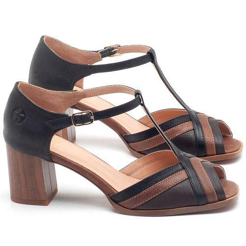 Laranja_Lima_Shoes_Sapatos_Femininos_Sandalia_Laranja_Lima_Shoes_Classic_Salto_de_6_cm_em_Couro_Bicolor_-_Codigo_-_3696_1