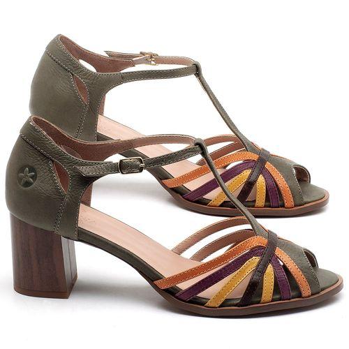 Laranja_Lima_Shoes_Sapatos_Femininos_Sandalia_Laranja_Lima_Shoes_Classic_Salto_de_6_cm_em_Couro_Multicolor_-_Codigo_-_3697_1